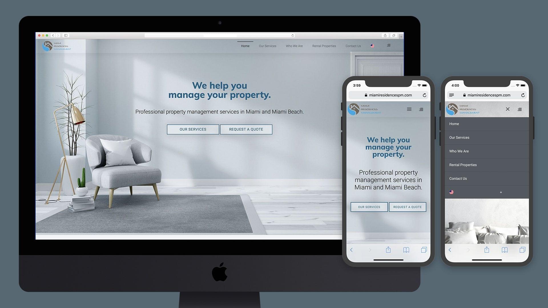 Miami Website Design Company - sliStudios Web Development