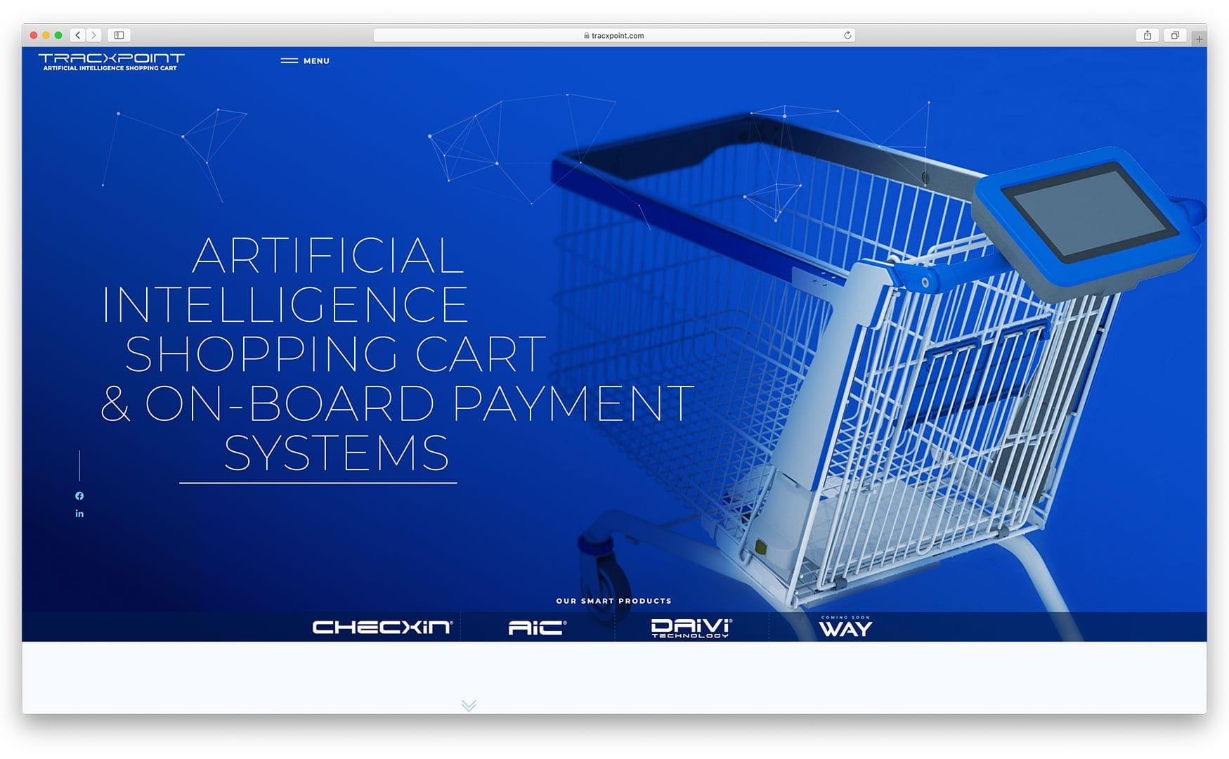 Tracxpoint.com Website Design by sliStudios Web Development in Miami