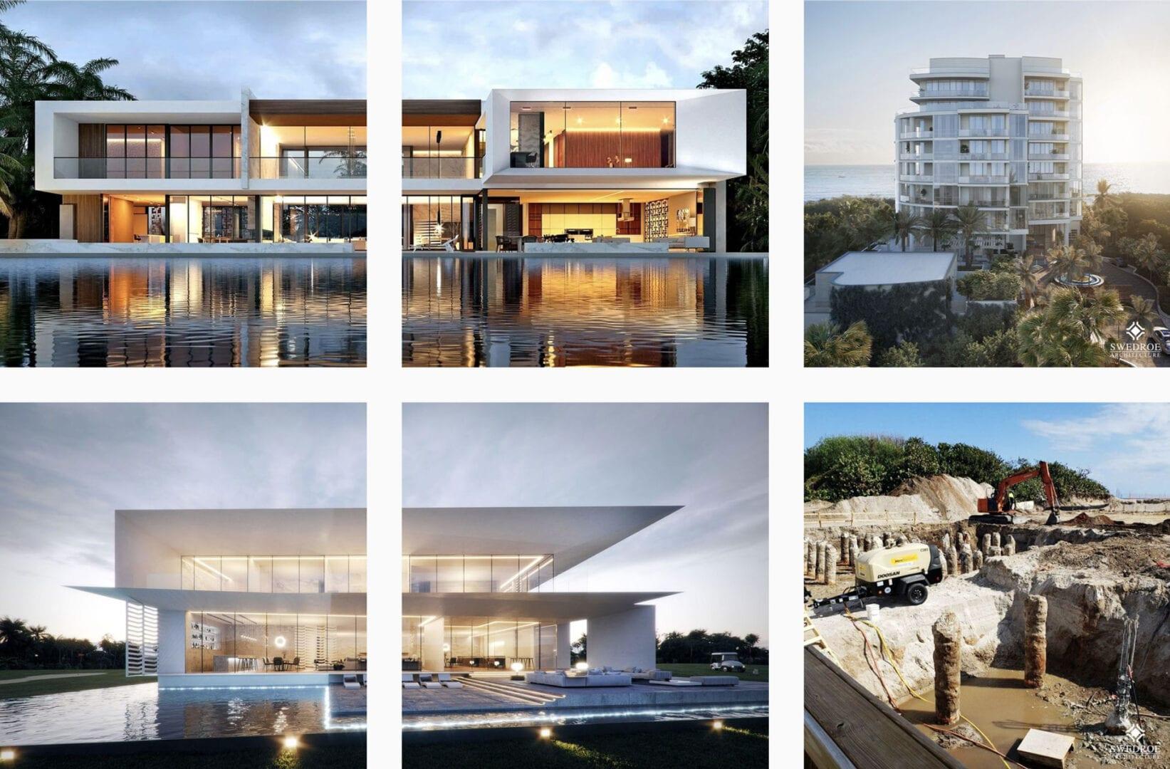 Digital Marketing in Miami – Instagram Feed – Swedroe Architecture